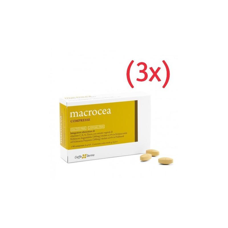 Macrocea COMPRESSE (3 mesi di trattamento)