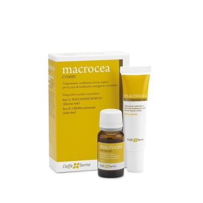 Macrocea COMBI® trattamento antivirale per verruche e molluschi contagiosi